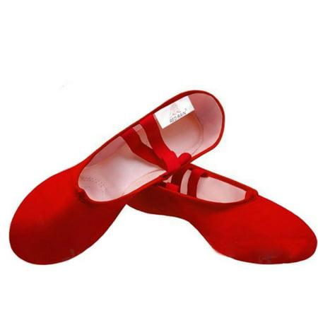 Ballet Dance Gymnastics Toe Shoes Female Adult Child Canvas Shoes