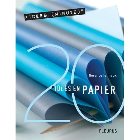 20 Idées en papier - eBook