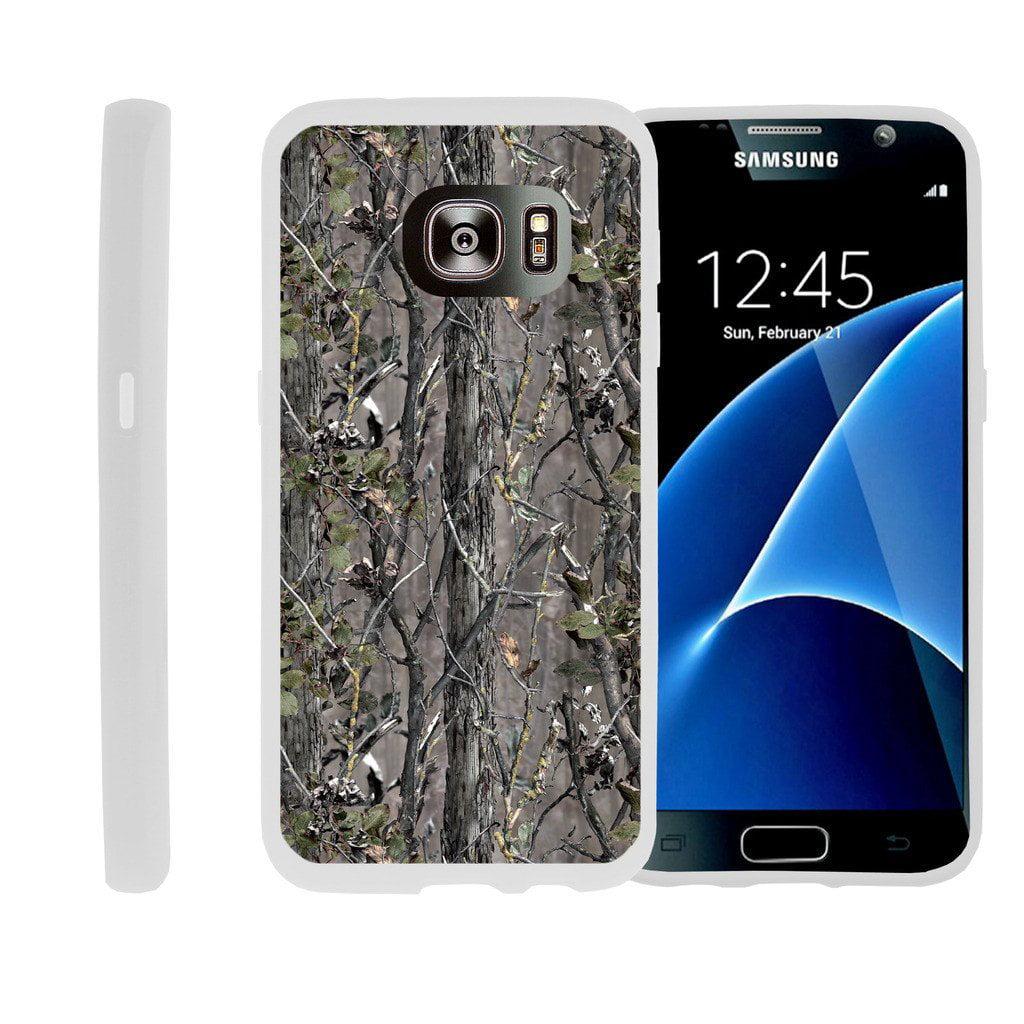 Flexible Case for Samsung Galaxy S6 Edge | SM-G925 Case [ Flex Force ] Lightweight Flexible Phone Case - Skinny Tree Branch
