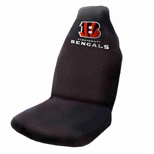 NFL Cincinnati Bengals Applique Seat Cover