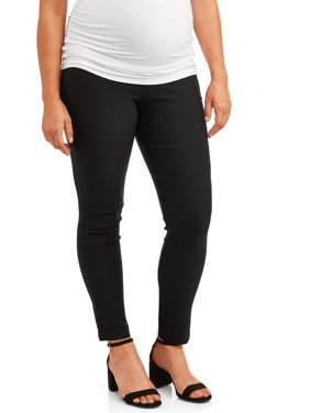 Maternity Oh! Mamma Skinny Career Pant with Full Panel (Available in Multiple Colors)