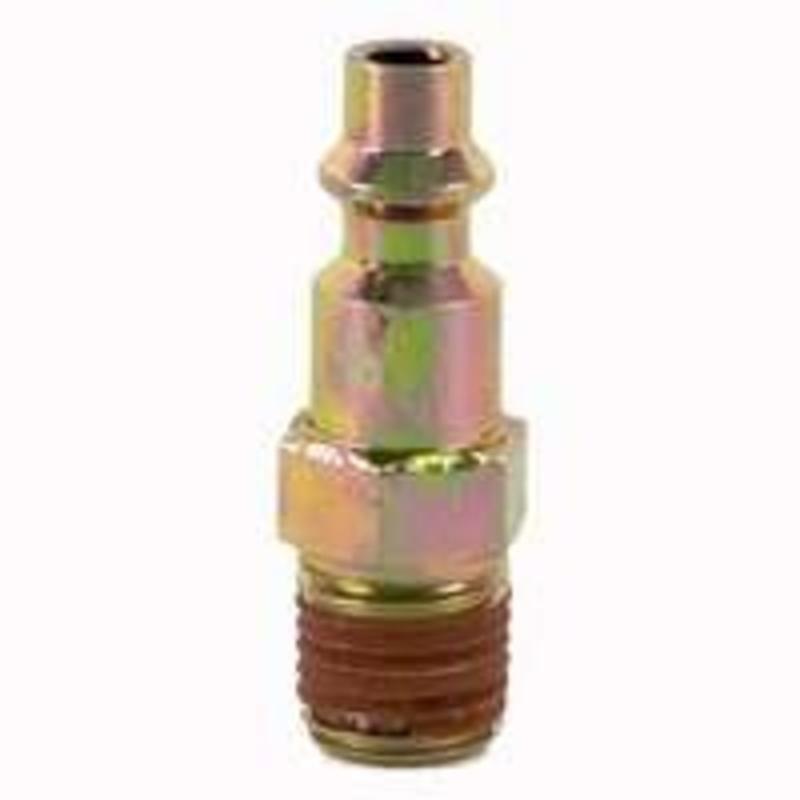 "Industrial Plug 1/4"" Mpt Stanley Hose Repair and Parts IP-14M-B 077914046202"