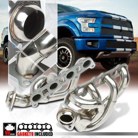 Stainless Steel Shorty Exhaust Header Manifold for 15-16 Ford F150 5.0 302 V8 Ford 302 Exhaust Manifold
