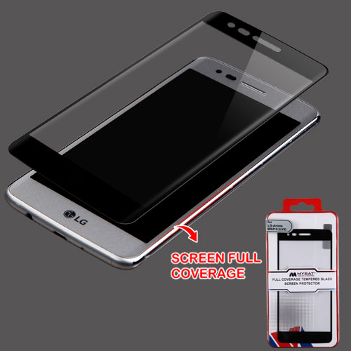 For LG K4 / Fortune / K8 / LV3 Full Coverage Tempered Glass Screen Protector