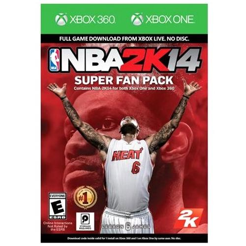 Take-Two NBA 2K14 Super Fan Pack - Sports Game - Download - Xbox 360