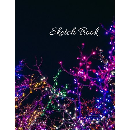 Sketch Book: Large Artistic Creative Colorful Notebook for Drawing, Writing, Painting, Sketching or Doodling - Gift Idea for Artists, Students and Kids: 8.5