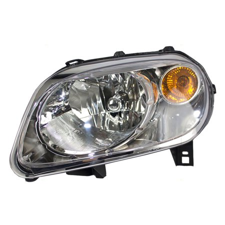 BROCK Headlight Headlamp Driver Replacement for 06-11 Chevrolet HHR (2008 Chevrolet Hhr Replacement)