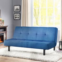 Deals on Mainstays 65-inch 3-Position Tufted Futon