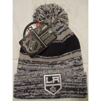 Product Image NHL Men s Los Angeles Kings Knit Hat Beanie w Pom 76e1e3213