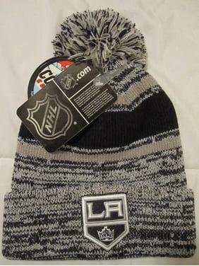 best website f6d24 38623 Product Image NHL Men s Los Angeles Kings Knit Hat Beanie w Pom, Black  Silver