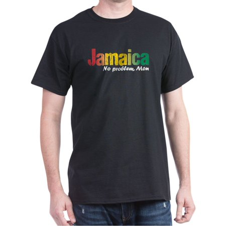 Jamaica Soccer T-shirt (Jamaica No Problem Tri - 100% Cotton T-Shirt)