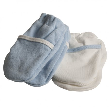 Safety 1st No Scratch Mittens, Blue - image 2 of 2
