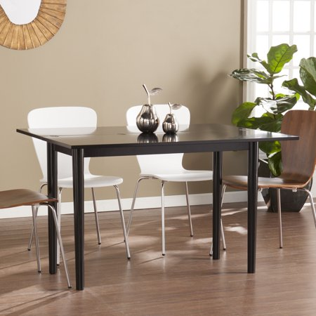 harper blvd caddo flip top convertible console to dining table. Black Bedroom Furniture Sets. Home Design Ideas