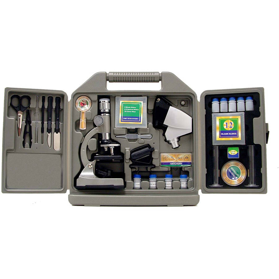 Cassini C-67M 1200x 67-Piece Microscope Set, Black