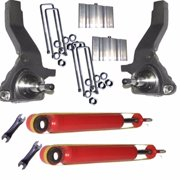 Airbagit X2-SPI-LIFT-FR-0110-6 Lifted Spindle, 2 - Shocks & Blocks Ford Ranger Edge 2001 - Up