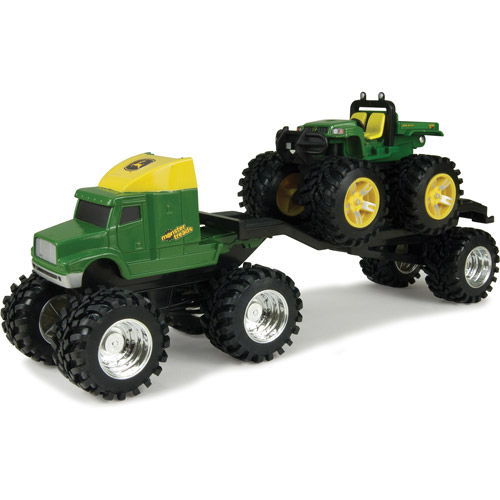 John Deere Monster Treads Semi with Gator Play Set