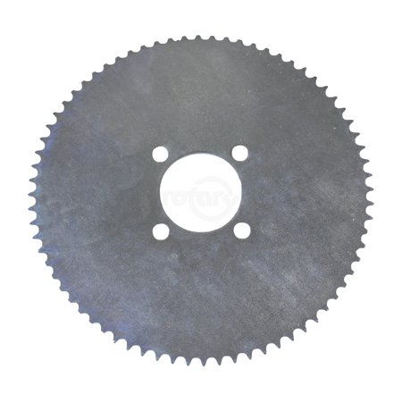 These sprockets are made of heavy gauge steel for long lasting life.  To be used on 35 chain with 2