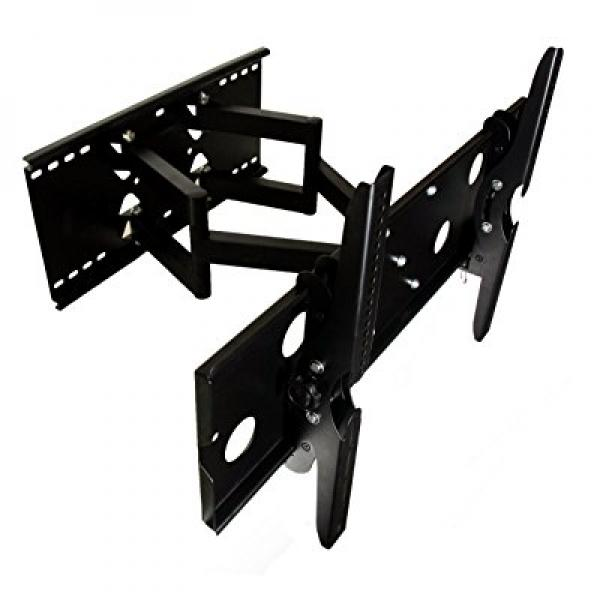 Mount-It! TV Wall Mount Full Motion and Heavy-Duty for Sa...