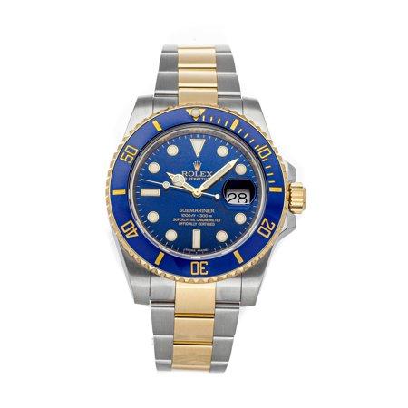 Halloween 2 Watch Online (Pre-Owned Rolex Submariner 116613LB Watch (2-Year WatchBox)