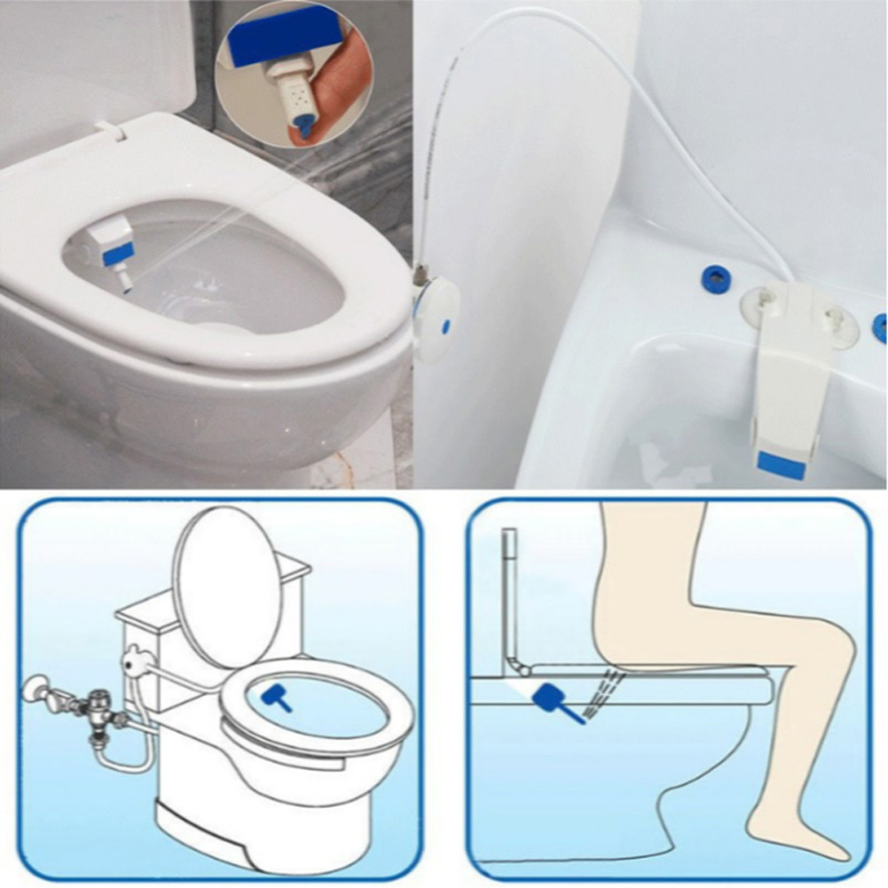 1/2inch Intelligent adsorption type Toilet Bathroom Smart Toilet Seat Bidet Set (The size of the waterpipe joint is 1/2Inch)