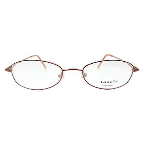 Cayla And Co Women's Sasha Eyeglasses Prescription Frames (Brown, 48-18-135) - Walmart.com | Tuggl