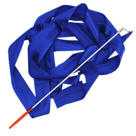 MAXSUN Dance Ribbon Fitness Art Gymnastic Ballet Streamer Twirling Rod Stick](Praise Dance Streamers)