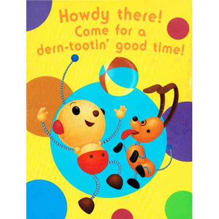Rolie Polie Olie Invitations w/ Envelopes (8ct) (Rolie Polie Olie Halloween Dvd)