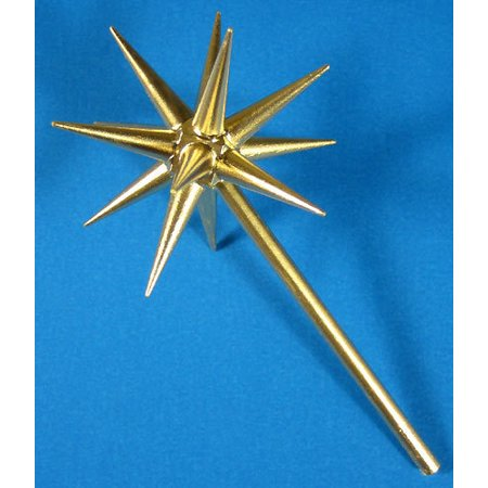 Advent Candleholder Gold Star  - Made in Germany ()