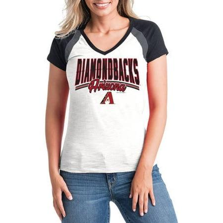 MLB Arizona Diamondbacks Women's Short Sleeve Team Color Graphic Tee Arizona Diamondbacks Team Store