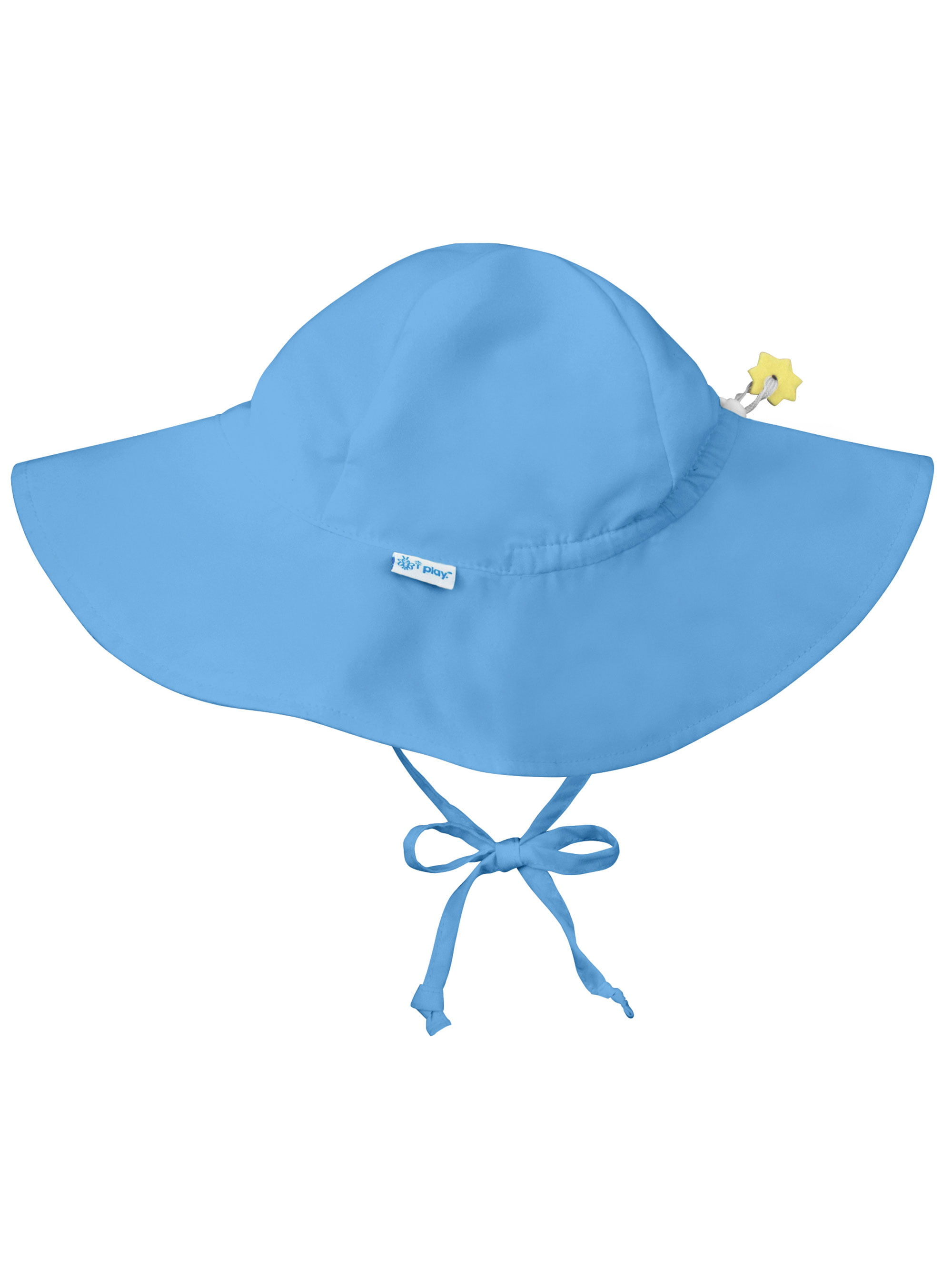 96b635716f2b9e Iplay Brim Sun Hat for Baby Boys Sun Protection Wide Brimmed Hat Solid  Light Blue-Infant 9-18 Months Baby Boy Hat Is Adjustable To Fit Outdoor Hat  With Chin ...