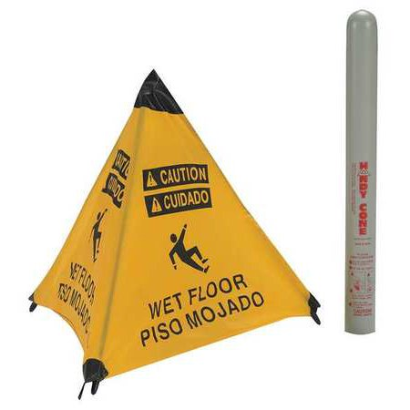 - Handy Cone, Wet Floor, Eng/Sp HANDY CONE 17194I