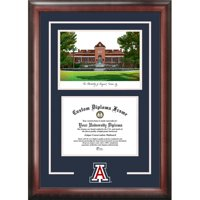 "University of Arizona 8.5"" x 11"" Spirit Graduate Diploma Frame with Campus Images Lithograph"