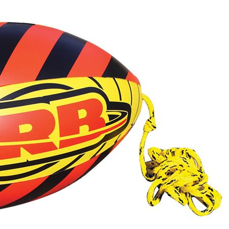 Airhead Rebel 1 Person Towable Tube Kit w/ Airhead 60-Foot Towable Rope Ball - image 3 of 12