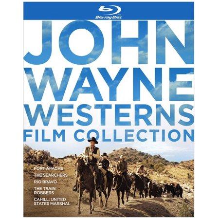 John Wayne Westerns Film Collection (Blu-ray) (Halloween John Wayne)