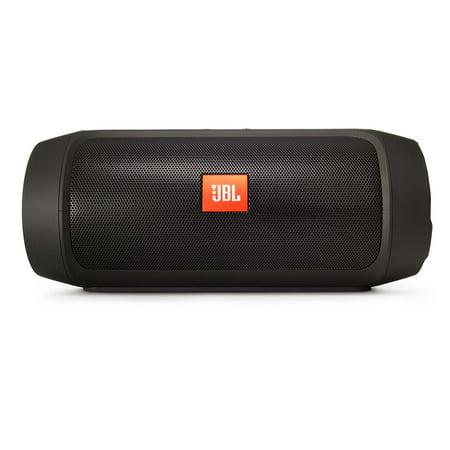 jbl charge 2 plus black open box splashproof bluetooth. Black Bedroom Furniture Sets. Home Design Ideas
