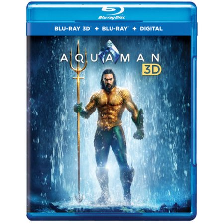 Aquaman (3D Blu-ray + Blu-ray + Digital Copy)](Halloween Australia Blu Ray)