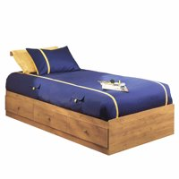 South Shore Little Treasures 3-Drawer Storage Bed, Twin, Country Pine