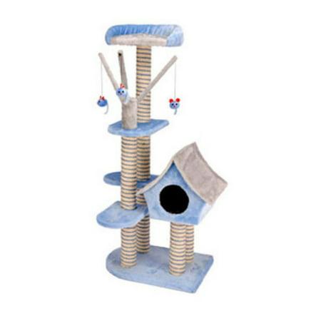 Penn-Plax Penn-Plax - Deluxe Cat Cottage w/Lounging Tower- Deluxe Cat Cottage w/Lounging Tower (Lounging Tower)