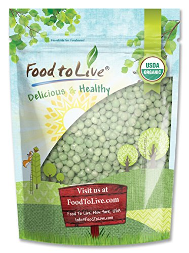 Food To Live Organic Green Peas (1 Pound) by Food To Live