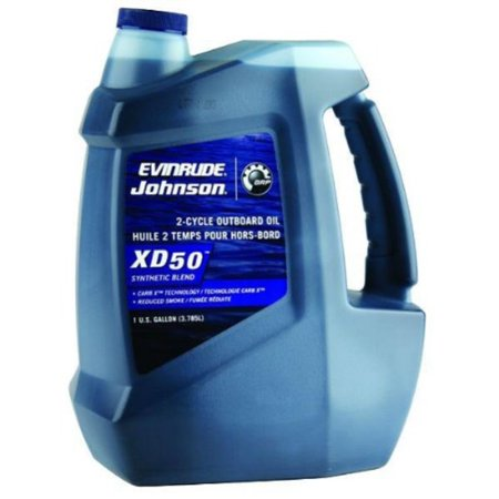 Evinrude Johnson 0764354 E-Tec XD 50 2-Cycle Outboard Motor Oil
