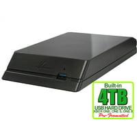 Avolusion HDDGear 4TB USB 3.0 External Gaming Hard Drive (for XBOX ONE, XBOX ONE S, XBOX ONE X) - 2 Year Warranty
