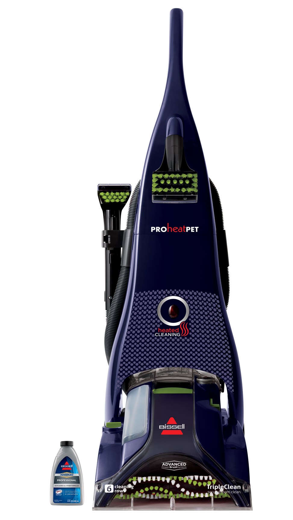 bissell heated carpet cleaner multi surface bissell proheat pet advanced fullsize carpet cleaner 1799 walmartcom