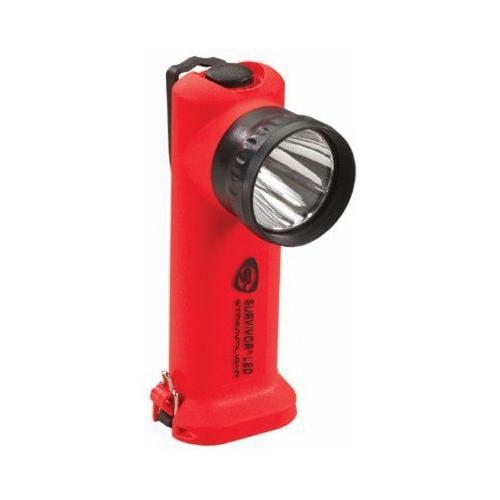 Streamlight Survivor LED Flashlight, (Orange, AC DC) by Streamlight