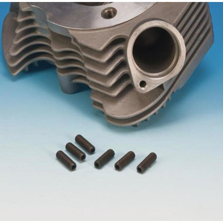 James Gasket 313-18-100 Exhaust Mounting to Cylinder Head Stud - 5/16-18 x 1.00in.