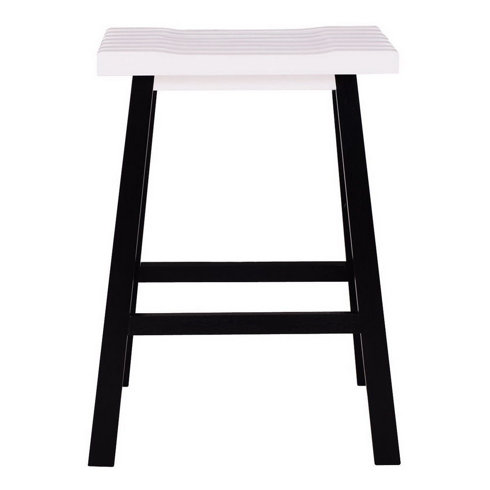 Ktaxon Set Of 2 Bar Stools Kitchen Counter Dining Saddle