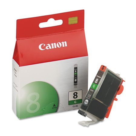 Light Green Ink - Canon CLI8G (CLI-8) Ink, Green