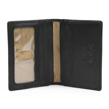 Weekend Wallet - Tony Perotti Italian Leather Front Pocket Weekend Wallet with ID