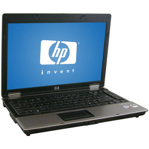"Refurbished HP Black 14"" 6530b Laptop PC with Intel Core 2 Duo Processor and Windows 7 Home Premium"