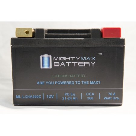 LiFePO4 12V 20-24ah Battery for Indian 1638 1638 Chief 2002-2003 ()