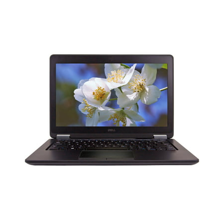 Refurbished DELL 12.5'' E7250 Laptop with Intel Core i7-5600U 2.6GHz, 16GB Memory, 512GB Solid State Drive and Windows 10 Pro